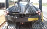 Pagani C9 supercar spied