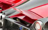 Pagani Huayra rear spoiler