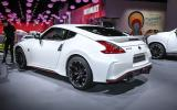 Aerodynamic and suspension tweaks for Nissan 370Z Nismo