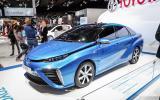 Hydrogen-powered Toyota FCV to arrive next year