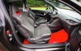 Peugeot 208 GTi 30th Anniversary interior
