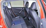 Peugeot 2008 rear seats