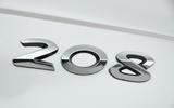 Peugeot 208 badging