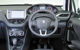 Peugeot 208 dashboard