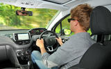 Driving the Peugeot 208