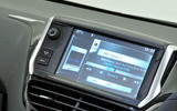 Peugeot 208 infotainment system
