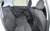 Peugeot 208 rear seats