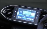 Peugeot 308 infotainment system