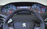 Peugeot 308 instrument cluster