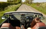 Driving Peugeot 308 CC roof down