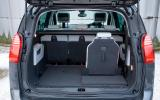 Peugeot 5008 boot space