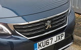 Peugeot 5008 chrome grille