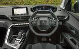 Peugeot 5008 dashboard