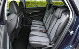 Peugeot 5008 rear seats