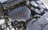 Peugeot 508 engine bay