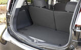 Peugeot iOn boot space