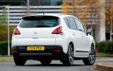 Peugeot 3008 rear cornering