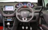 Peugeot 208 GTi 30th dashboard