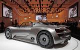 Porsche 918 Spyder - new pics