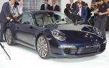 Frankfurt motor show: Porsche 911