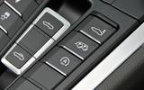 Porsche 718 Boxster roof controls