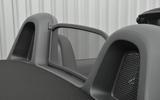 Porsche 718 Boxster wind deflector