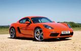 4.5 star Porsche 718 Cayman S
