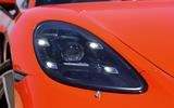 Porsche 718 Cayman LED headlights