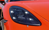 Porsche 718 Cayman LED headlights