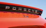 Porsche 718 Cayman rear badging