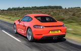 Porsche 718 Cayman rear