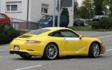 New Porsche 911 scooped
