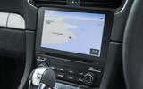 Porsche 911 GT3 infotainment system