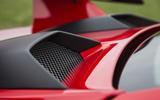 Porsche 911 GT3 air intake vents