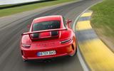 Porsche 911 GT3 rear