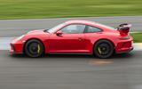 Porsche 911 GT3 side profile