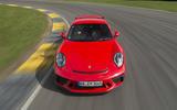 Porsche 911 GT3 top profile
