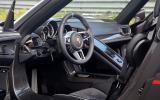 Porsche 918 driver's seat