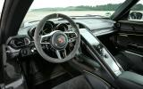 Porsche 918 Spyder steering wheel