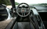 Porsche 918 Spyder driver's seat