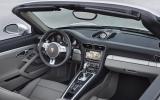 Porsche 911 Turbo Cabriolet dashboard
