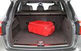 Porsche Cayenne boot space