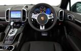 Porsche Cayenne dashboard