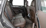 Porsche Cayenne rear seats