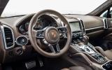 2014 Porsche Cayenne S diesel dashboard