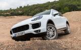 Porsche Cayenne S serious off-roading