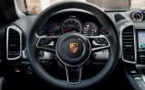 Porsche Cayenne Turbo steering wheel