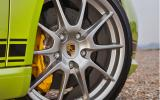 Porsche Cayman R alloy wheels