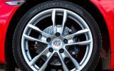 18in Porsche Cayman alloys
