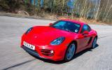 Porsche Cayman front quarter